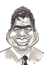 Cartoon: George Lopez (small) by cabap tagged caricature
