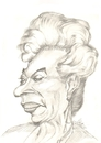 Cartoon: Nichelle Nichols (small) by cabap tagged caricature