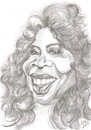 Cartoon: Oprah Winfrey (small) by cabap tagged caricature