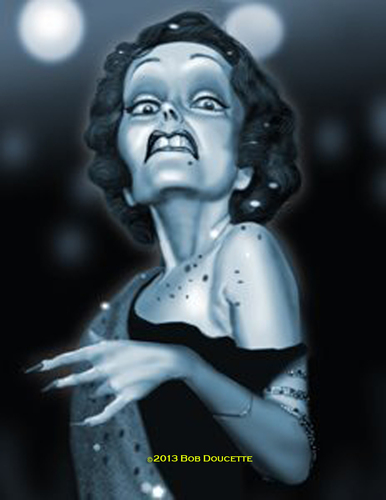 Cartoon: Sunset Blvd (medium) by tobo tagged gloria,swanson