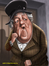 Cartoon: Dame Margaret Rutherford (small) by tobo tagged miss,marple