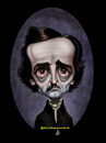 Cartoon: Edgar Allan Poe (small) by tobo tagged caricature,poe