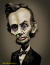 Cartoon: HONEST ABE (small) by tobo tagged president,caricature,history