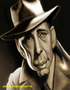 Cartoon: Humphrey Bogart (small) by tobo tagged humprey,bogart,caricature