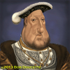 Cartoon: KING HENRY the VII (small) by tobo tagged caricature,king