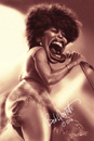 Cartoon: Tina Turner (small) by tobo tagged tina,turner,caricature,music