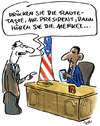 Cartoon: Taste (small) by ari tagged obama,merkel,raute,nsa,handy,mobile,abgehört