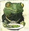 Cartoon: Gourmet (small) by Rainer Ehrt tagged gourmet frosch frog animal pleasure enjoyment taste