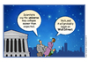 Cartoon: The Collapse of the Universe (small) by carol-simpson tagged wall street finance universe capitalism business collapse