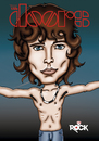 Cartoon: jim morrison (small) by mitosdorock tagged jim,morrisson