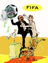 Cartoon: FIFA (small) by Miro tagged fifa
