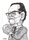 Cartoon: JOSIP BROZ TITO (small) by Senad tagged josip,broz,tito,senad,nadarevic,karikature,bosnia