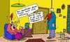 Cartoon: Fly on the wall (small) by Leichnam tagged fly,on,the,wall,fisch,fliege,geplätscher,selbstmord,strick,suizid,wahnsinnig,tobsucht,aufgehängt