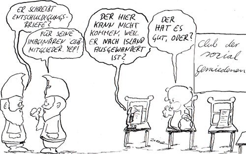 Cartoon: psychologisch wertvoll (medium) by kusubi tagged kusubi