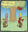 Cartoon: Keebler Tree Fight (small) by cartertoons tagged keebler,elves,date,night,tree
