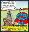 Cartoon: Narco Man (small) by cartertoons tagged superman,narcoleptic,hero,train,tracks