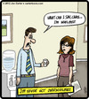 Cartoon: Whelmed (small) by cartertoons tagged overwhelmed,office,work,gossip,rumors