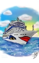 Cartoon: AIDAmar (small) by swenson tagged ship,club,schiff,aida,aidacrusis,mar,blu,sol,holliday,urlaub