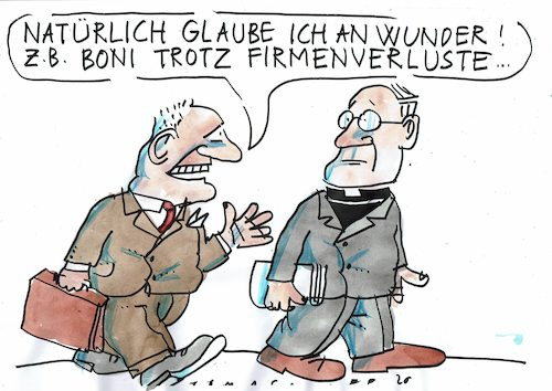 Cartoon: Boni (medium) by Jan Tomaschoff tagged wirtschaft,manager,boni,wirtschaft,manager,boni