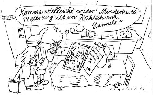 Cartoon: NRW-Wahl (medium) by Jan Tomaschoff tagged nrw,rüttgers