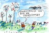 Cartoon: drohne (small) by Jan Tomaschoff tagged energy,wind,power
