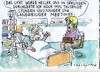Cartoon: Nahtoderlebnis (small) by Jan Tomaschoff tagged lebenszeit,meetings