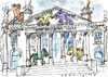 Cartoon: Trojaner im Reichstag (small) by Jan Tomaschoff tagged trojaner,cyber,angriff