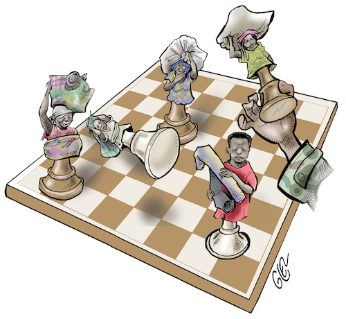 Refugees are pawns