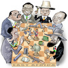 Cartoon: Influence in Africa (small) by Damien Glez tagged influence,in,africa,petroleum,political,power