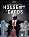 Cartoon: Trumps House of cards (small) by Damien Glez tagged house,of,cards,united,states,america,donald,trump,american,president