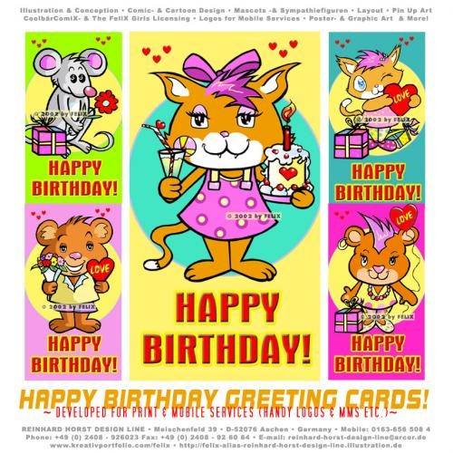 Funny birthday ecards and 3D animated cards.