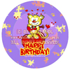 Cartoon: Cartoon Verpackungs Design (small) by FeliXfromAC tagged felix alias reinhard horst design line character mascot sympathiefigur germany aachen illustrator cartoon comic illustration verpackung schachtel kuchenschachtel package leopard music musik tier animal leo lovecrazy lila happy birthday