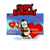 Cartoon: Torten Verpackungs Design (small) by FeliXfromAC tagged reinhard horst design line aachen illustration comic zeichner comix comiczeichner illustrator torten verpackung pinguin animal niedlich mascot happy birthday felixfromac