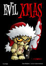 Cartoon: Evil Xmas (small) by volkertoons tagged volkertoons,karte,postkarte,grußkarte,greeting,card,bär,teddy,teddybär,bear,pet,toy,messer,knife,blut,blood,böse,bad,evil,weihnachten,christmas,xmas,holidays,cute,süß,niedlich,makaber