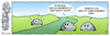 Cartoon: STEINE - Unten am Fluss (small) by volkertoons tagged steine stone stones comic strip cartoon volkertoons humor lustig funny