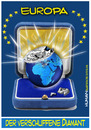 Cartoon: Europ verschliffener Diamant (small) by cartoonist_egon tagged eu,eurpoa,schliff,schein