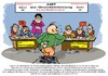 Cartoon: Onanie finanzielle Absicherung (small) by cartoonist_egon tagged sperma,onanie,job,prüfung