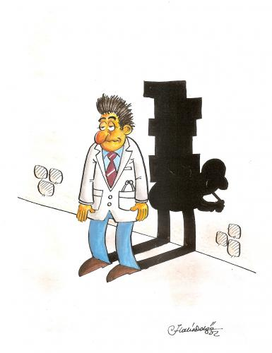 Cartoon: porter doctor halis dokgoz (medium) by halisdokgoz tagged porter,doctor,halis,dokgoz