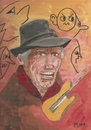 Cartoon: Keith Richards (small) by quadenulle tagged geburtstag,musik,kultur,gitarre,rolling,stones