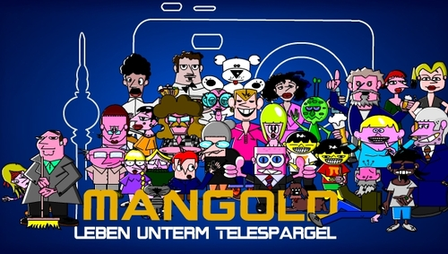 Cartoon: Mangold (medium) by Tricomix tagged mangold,family,chracter,design,berlin,telespargel,people