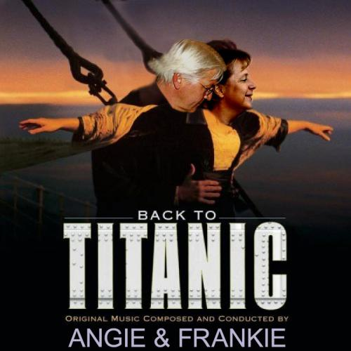 Cartoon: Back to Titanic (medium) by Hayati tagged back,to,titanic,frank,walter,steinmeier,angela,merkel,kanzlerkandidat,kanzlerin,spd,cdu,wahl,2009,collage,humour