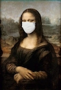 Cartoon: Find den Fehler (small) by sier-edi tagged corona,leonardo,da,vinci,mona,lisa