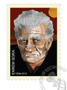 Cartoon: EKREM BORA  1934-2012 (small) by donquichotte tagged bora