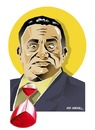 Cartoon: HOSNI MUBARAK-II (small) by donquichotte tagged president,of,egypt
