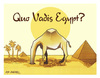 Cartoon: QUO VADIS EGYPT? (small) by donquichotte tagged egypt