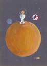 Cartoon: naufragio lunar (small) by claude292 tagged moon