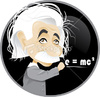 Cartoon: Albert Einstein (small) by Nicoleta Ionescu tagged albert,einstein,scientist,genious,relativity