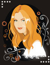 Cartoon: Drew Barrymore (small) by Nicoleta Ionescu tagged drew,barrymore