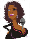 Cartoon: Oprah Winfrey (small) by Nicoleta Ionescu tagged oprah,winfrey
