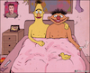 Cartoon: Bert and Ernie (small) by matan_kohn tagged bert,ernie,funny,gay,sesame,sex,street,praide,sofa